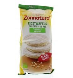 Zonnatura Rijstwafels yoghurt 100 gram | Superfoodstore.nl