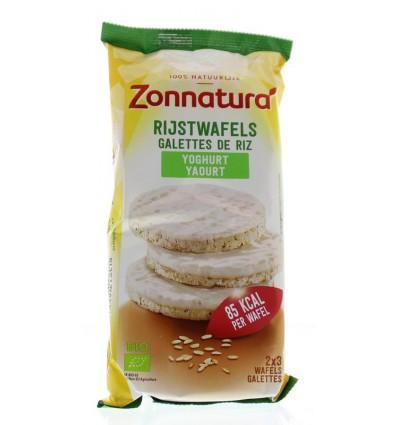 Zonnatura Rijstwafels yoghurt 100 gram | € 2.74 | Superfoodstore.nl