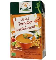Primeal Veloute soep tomaat-linzen 1 liter | Superfoodstore.nl