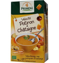 Primeal Veloute soep pompoen-kastanje 1 liter |