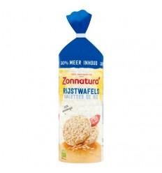Zonnatura Rijstwafel naturel bio 130 gram | Superfoodstore.nl