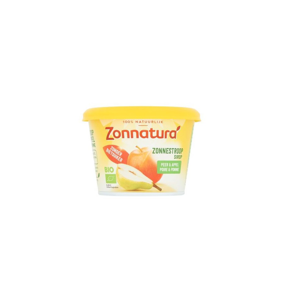 Zonnatura Zonnestroop peer/appel 300 gram