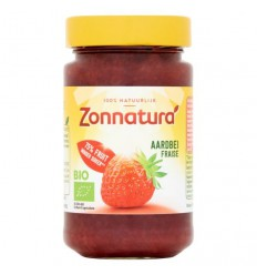 Broodbeleg Zonnatura Fruitspread aardbei 75% 250 gram kopen