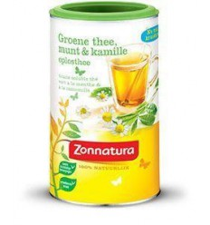 Zonnatura Groene oplosthee pepermunt/kamille 200 gram |