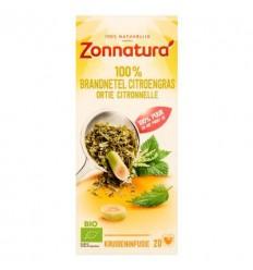 Zonnatura Brandnetel citroengras bio 20 zakjes | € 2.23 | Superfoodstore.nl