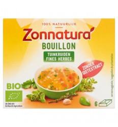 Bouillon & Aroma Zonnatura Fine herbstock bouillon zonder gist