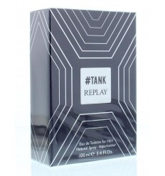 Replay Tank for him eau de toilette 100 ml | € 35.91 | Superfoodstore.nl