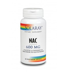 L-Cysteïne Solaray NAC N-Acetyl l-cysteine 600 mg 60 vcaps kopen
