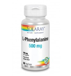 Solaray L-Phenylalanine 500 mg 60 vcaps | € 18.20 | Superfoodstore.nl