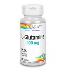 Solaray L-Glutamine 500 mg 50 vcaps | Superfoodstore.nl