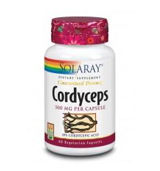 Solaray Cordyceps 500 mg 60 vcaps | Superfoodstore.nl