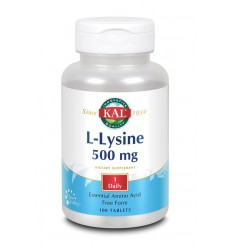 KAL L-Lysine 500 mg 100 tabletten | € 12.44 | Superfoodstore.nl