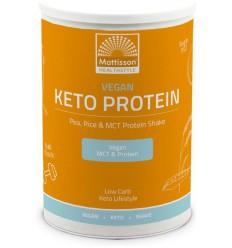 Mattisson Vegan Keto protein shake - pea, rice & MCT 350 gram |