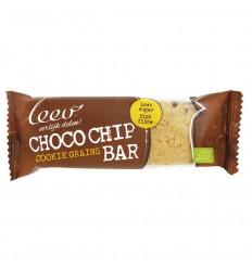 Leev cookiebar chocochip & granen 35 gram 16 stuks  