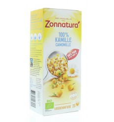 Zonnatura kamille thee 100% zon | € 1.91 | Superfoodstore.nl