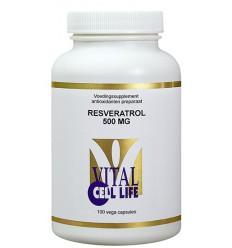 Vital Cell Life resveratrol 500mg | Superfoodstore.nl