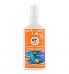 Alphanova Sun Sun vegan spray SPF50 125 ml | Superfoodstore.nl