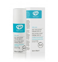 Green People Day solution SPF15 50 ml | Superfoodstore.nl
