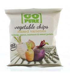 Go Pure Chips groente 40 gram | Superfoodstore.nl