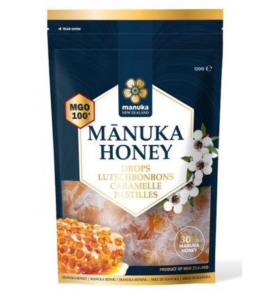 Manuka Honing Manuka New Zealand MGO 100+ pastilles 120 gram kopen