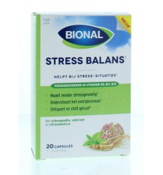 Bional Stress balans 20 tabletten | Superfoodstore.nl