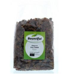Bountiful Sultana rozijnen bio 1 kg | € 6.32 | Superfoodstore.nl