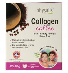 Physalis Collagen coffee 10 gram 12 stuks   Superfoodstore.nl