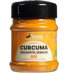Cook Geelwortel curcuma gemalen 80 gram   Superfoodstore.nl