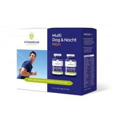 Vitakruid Multivitamine Vitakruid Multi dag & nacht man 2 x 90