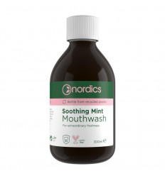 Nordics Mouthwas soothing mint 300 ml | Superfoodstore.nl