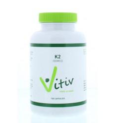 Vitamine K Vitiv Vitamine K2 100 mcg 100 capsules kopen