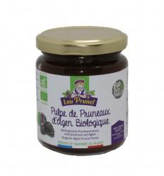 Lou Prunel Pruimenjam zonder toegevoegd suiker 225 gram  
