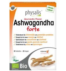 Ashwagandha Physalis Ashwagandha forte 30 tabletten kopen