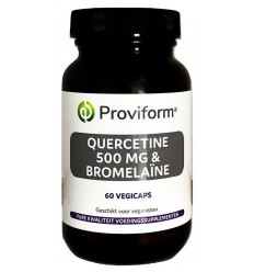 Provoform Quercetine 500 mg & bromelaine 60 vcaps | € 23.93 | Superfoodstore.nl