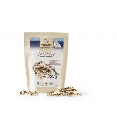 Chocolatemakers Chocozeiltjes wit 100 gram | € 3.85 | Superfoodstore.nl