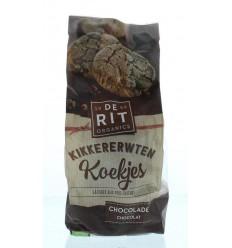 De Rit Kikkererwtenkoek chocolade 150 gram | Superfoodstore.nl
