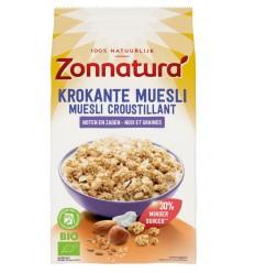 Muesli Zonnatura Krokante muesli noten & zaden 375 gram kopen