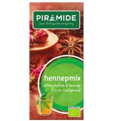 Piramide hennep mix bio | Superfoodstore.nl
