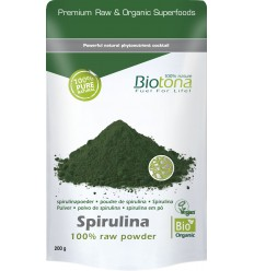 Spirulina Biotona Spirulina raw powder 200 gram kopen