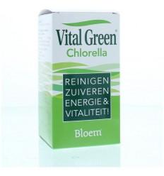 Bloem Chlorella vital green 600 tabletten | Superfoodstore.nl