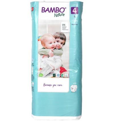 Babydoekjes Bambo Nature Babyluier 4 7-18 kg 48 stuks kopen