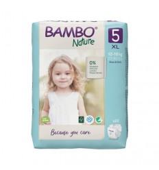 Babydoekjes Bambo Nature Babyluier junior 5 12 - 18 kg 22 stuks