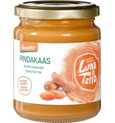 Luna E Terra Pindakaas smooth 250 gram | Superfoodstore.nl
