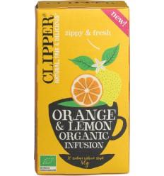 Clipper orange & lemon infusio | Superfoodstore.nl