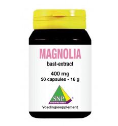 Voedingssupplementen SNP Magnolia bast extract 400 mg 30