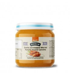 Biobim Zoete aardappel wortel 4+ maanden demeter 125 gram |