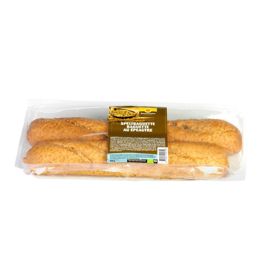 Zonnemaire Spelt baguette 2 stuks