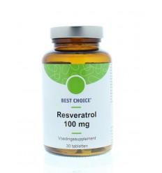 Best Choice Resveratrol 30 vcaps | Superfoodstore.nl