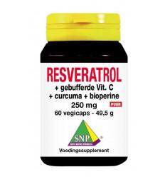 Resveratrol SNP Resveratrol curcuma gebufferd vit C bioperine
