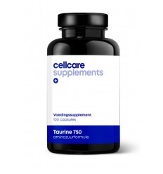 Cellcare Taurine 750 100 vcaps | Superfoodstore.nl
